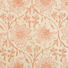Soane Britain's Palampore Blossom fabric in Indian Pink Textile Patterns, Print Patterns, Textile Design, Indian Animals, Indian Block Print, Ferrat, Passementerie, Red Design, Pretty Wallpapers