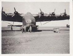 Messerschmitt Me 323 Gigant Foto-Luftwaffe-Flugzeug-Me-323-D-Wartung-Focsani-Rumaenien-Fruehsommer-1944 ~ BFD