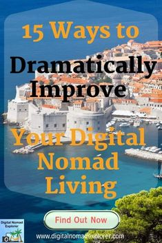 15 Ways to Dramatically Improve Your Digital Nomad Living - Digital Nomad Explorer Work Travel, Usa Travel, Job Work, Have A Good Night, Digital Nomad, Meeting New People, Improve Yourself, How To Become, Social Media
