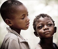 https://flic.kr/p/492j6h | San boys | Two young boys of the San tribe in northern  Namibia.