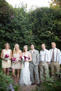dress those guys up! #roaring20wedding #weddingparty #weddingchicks http://www.weddingchicks.com/2014/01/02/easy-roaring-20s-wedding-ideas/