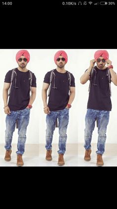 Who says that a sardar cant become famous in bollywood Pic Pose, Famous Singers, Celebs, Celebrities, Perfect Man, Dress Codes, Classic Style, Bollywood, Menswear