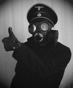 Nazi Soldier Thumb Up