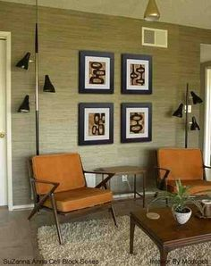 mid century furniture | have a true love of mid century modern furniture and artwork and ...