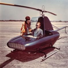The Rotorway Javelin personal helicopter
