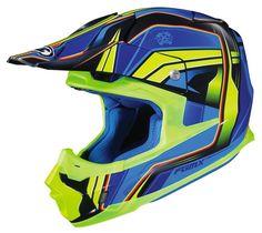 HJC FG-MX Axis Helmets XLG HI Viz Yellow