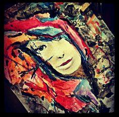 Face art (acrylics)