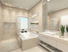 @decoremais #Cozinha Bathroom Design Luxury, Bathroom Interior, Home Interior Design, Casas Country, Dream Bathrooms, Luxurious Bedrooms, Bathroom Inspiration, Luxury Homes, House Design