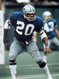 Hall of Fame DB Mel Renfro played 14 seasons for Dallas, 1964-1977.