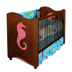 Room Magic Crib/Toddler Bed, Seahorse Room Magic