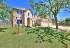 FSBO Georgetown TX - 4 Bed, 2.5 Bath, 3-Car Garage - Awesome 2-story house in sought after Berry Creek! NOTE THE MANY UPDATES: new water heater 11/19, 2 new a/c units 10/19, Ring doorbell 4/19, new SS dishwasher 10/18, new windows 4/16, custom paint throughout, spray foam insulation in attic and water softener. This lovely home has many tasteful features including a main level master suite along with a nice sized office behind French doors and a half bath for your guests. Huge island... Georgetown Tx, Spray Foam Insulation, Fire Pit Area, Ring Doorbell, 2 Story Houses, Shade Trees, Large Backyard, Private Pool, Car Garage