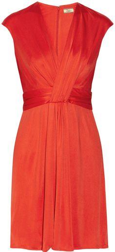 Issa Silk-jersey dress on shopstyle.com.au