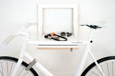 23 idées déco de porte-vélo
