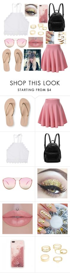 """""""Coachella Look"""" by zi-and-astro ❤ liked on Polyvore featuring Aéropostale, Front Row Shop, STELLA McCARTNEY, Quay and Charlotte Russe"""