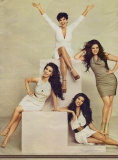 Kardashian Family... i really do find them all entertaining and gorgeous