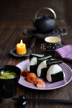 かもめ食堂的おにぎり - restaurantKAMOME Riceball plate