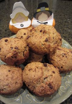 Banana Chocolate Chip Muffins - Gluten Free, Dairy Free - Recipe Available in 2013