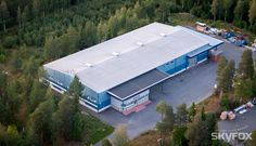 Perinteinen teollisuushalli