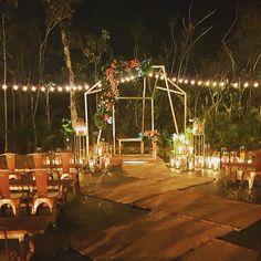 @andaz @mayakoba #RivieraMaya #mockwedding opening... NOW READY TO ROCK YOUR CELEBRATIONS  Set up by @canteiroweddings #mayakobacasar #mayakoba
