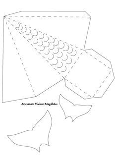 Moldes Imprimíveis em folha A4