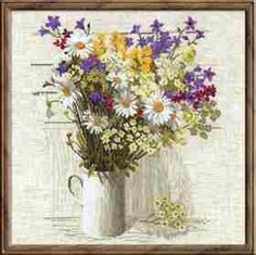 Wildflowers by Riolis, counted cross stitch kit