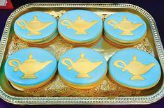 Jasmine Birthday Party (Arabian Nights Get a Genie Lamp for decor? (princess-jasmine-birthday-party-cookies)Get a Genie Lamp for decor? Aladdin Birthday Party, Aladdin Party, Birthday Bash, Birthday Party Themes, Princess Birthday, Jasmin Party, Princess Jasmine Party, Disney Princess, Arabian Party