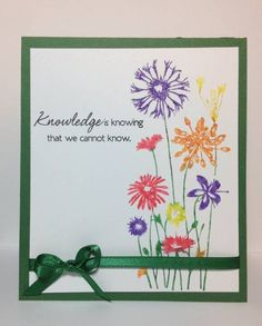Knowledge Card Inspired by Razzelberry Silhouette (Ceal) by StephInOK - Cards and Paper Crafts at Splitcoaststampers