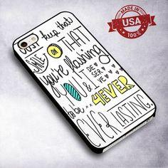 Awesome Emblem3 Chloe Lyrics - For iPhone 4/ 4S/ 5/ 5S/ 5SE/ 5C/ 6/ 6S/ 6 PLUS/ 6S PLUS/ 7/ 7 PLUS Case And Samsung Galaxy Case