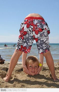 Two boys at the beach. OMG. Isn't this so true. Boys will be..... well......crazy!
