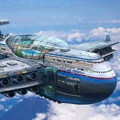 Future airplane.