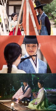"Saimdang and Lee Gyeom Fall In Love In ""Saimdang, Light's Diary"" Stills 