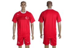 2012-2013 Turkey national team red jerseys home