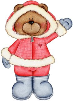 Bearing all seasons - carmen freer - Picasa Web Albums Tatty Teddy, Bear Clipart, Cute Clipart, Christmas Clipart, Christmas Images, Winter Clipart, Christmas Bible, Tedy Bear, Bear Girl