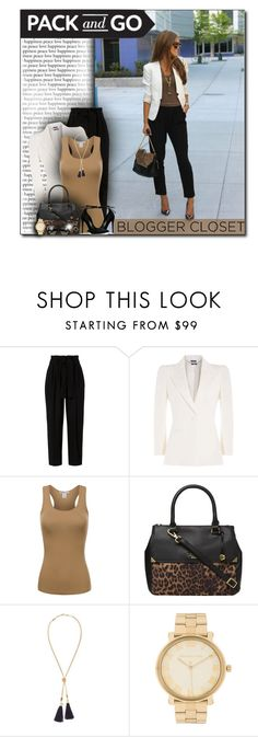 """""""Pack and go: Winter Getaway LA Style"""" by cindycook10 ❤ liked on Polyvore featuring A.L.C., Alexander McQueen, Fiorelli, Chloé, Michael Kors and Bottega Veneta"""
