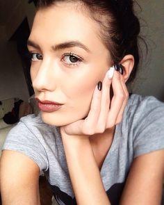My daily natural makeup ❤️ #makeup