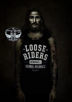 Loose Riders Tank-Tops.Tattoo,Biker,Oldschool,Rockabily,Custom Clothing Styles