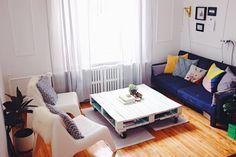 A Colorful Montreal Apartment with Plenty of Eye-Catching DIY Projects — House Call | Apartment Therapy