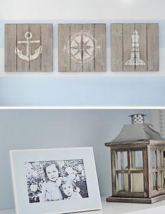 project nursery nautical wall art