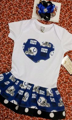 Daddy might get to have the kiddo wear some Colts stuff too. MAYBE!   52001e2fb