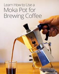In search of the perfect cup of coffee? The moka pot is an easy stove-top method for brewing coffee nearly as rich as espresso, with a delicious, foamy crema.