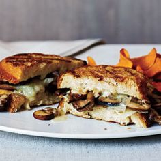 Mushroom and Manchego Panini | MyRecipes.com