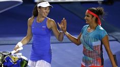 Sania and Dodig down Paes and Hingis to enter semis