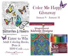 Color Me Happy Giveaway - Katherines Corner