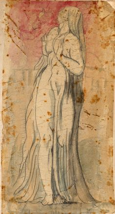 After William Blake | 1757-1827 | Lot's Wife | The Morgan Library & Museum