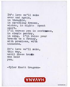 Typewriter Series #2228 by Tyler Knott Gregson