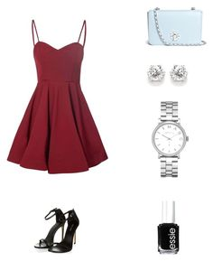 """""""Untitled #13"""" by thequeenofinspiration ❤ liked on Polyvore featuring Glamorous, Tory Burch, Marc by Marc Jacobs, Essie, women's clothing, women's fashion, women, female, woman and misses"""