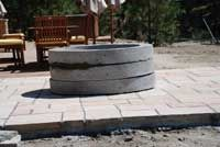 Step by step instructions for building gas firepit.