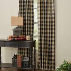 Country Farmhouse Curtains  