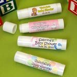 Personalized Baby Shower Lip Balm Stick Favors