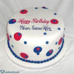 Coolest Happy Birthday Cake For Men Name Generator